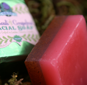Patchouli & Grapefruit Facial Soap for acne prone skin