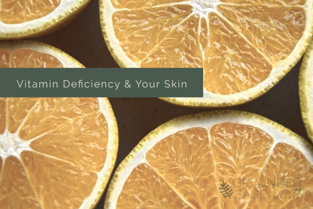 vitamin deficiency & your skin