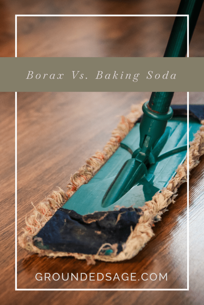 Borax VS Baking soda/ green cleaning / holistic living / cleaning tips