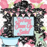 Spring Clean Up Sale