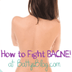 How to Fight Bacne