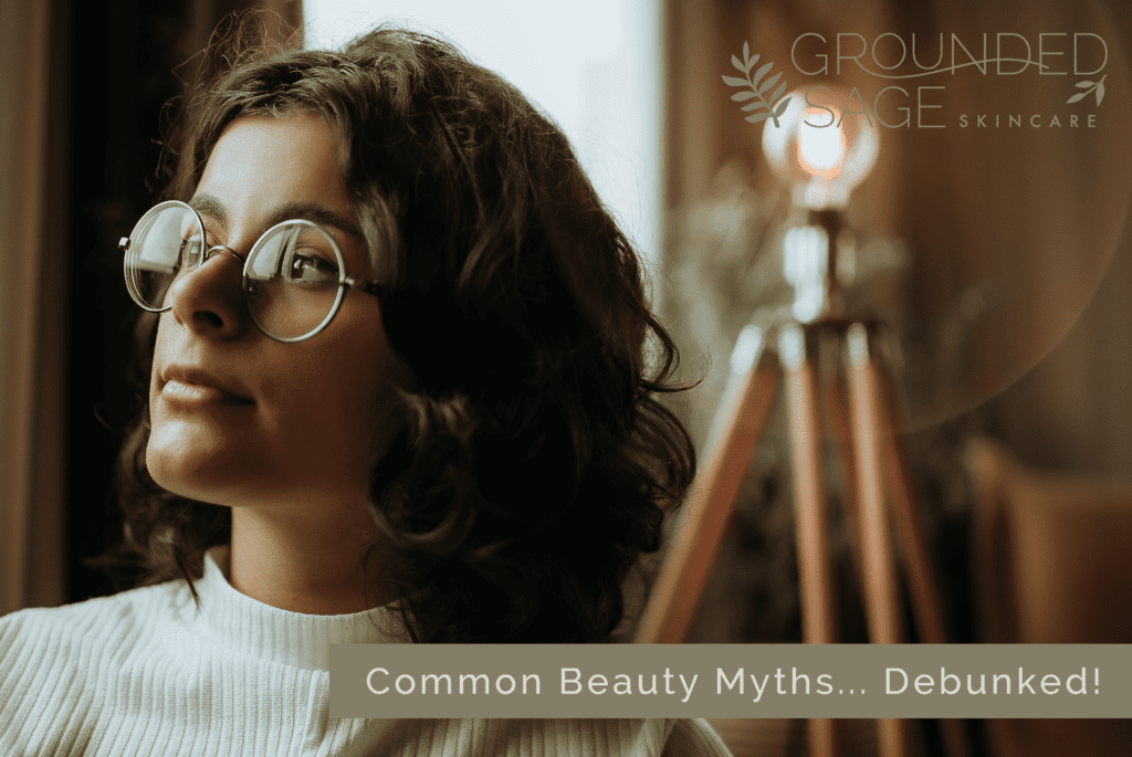 beauty myths debunked / green beauty / beauty trends / slow skincare