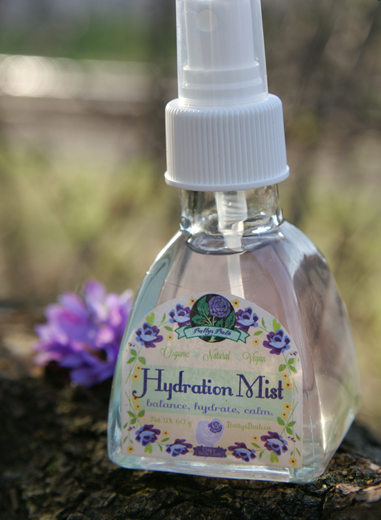 hydration mist for dry skin
