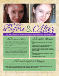 Katrina's before and after