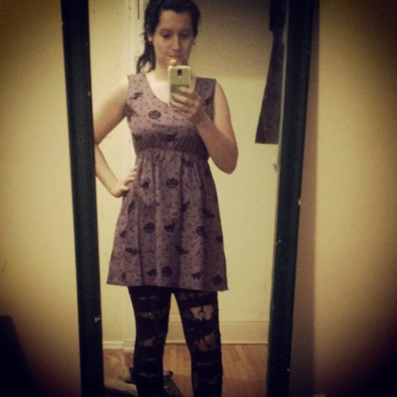 Batty's halloween dress
