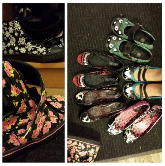 Batty's shoes