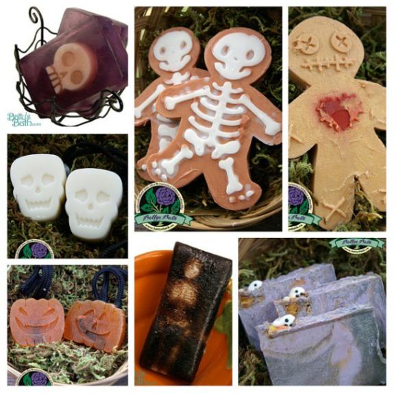 Halloween soaps
