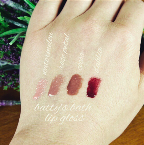 We're excited about launching our natural highly pigmented lip gloss!! Do you know someone who'd LOVE to try this out??  (Feb. 19th)