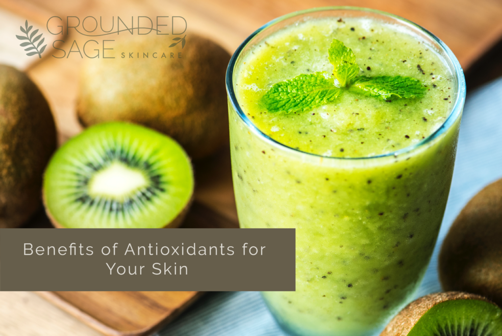 Benefits of antioxidants for skin - food for skin health / anti ageing / green beauty / holistic beauty / skin friendly foods