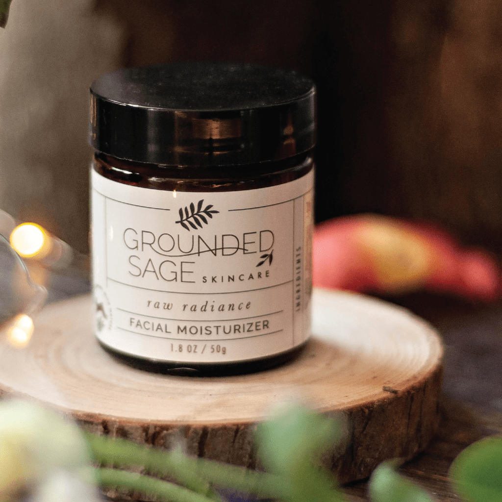 Raw Radiance Moisturizer - antioxidants / coconut oil-free / made with natural ingredients | organic skincare | eco beauty | holistic earthy skincare | vegan skin care