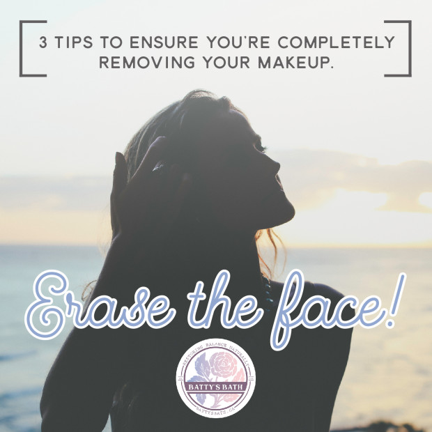 3 tips to removing makeup