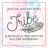 become a radiant rebel - join the tribe
