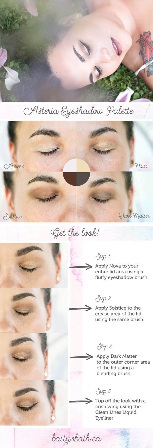 asteria eyeshadow palette
