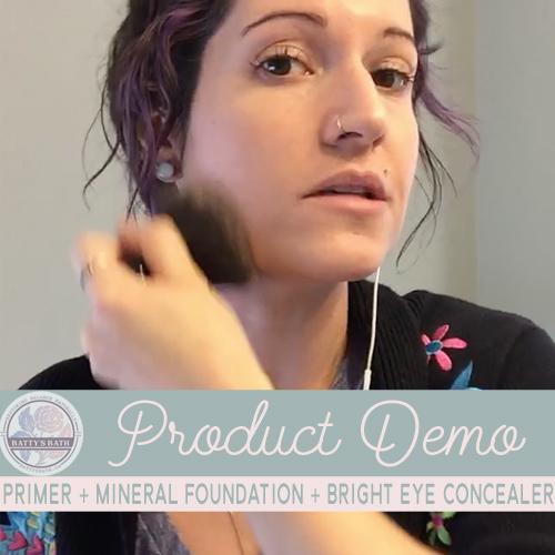 how to use mineral foundation and cover dark under eye circles with natural makeup