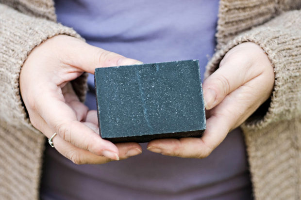 Charcoal CP Soap - handmade cruelty free natural soap by Batty