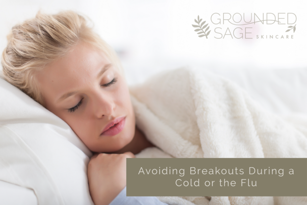 breakouts during a cold