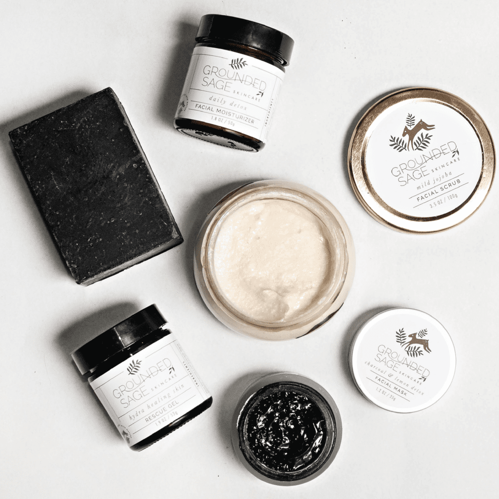 detox skincare kit for a skin reset / made with natural ingredients | organic skincare | eco beauty | holistic earthy skincare | vegan skin care