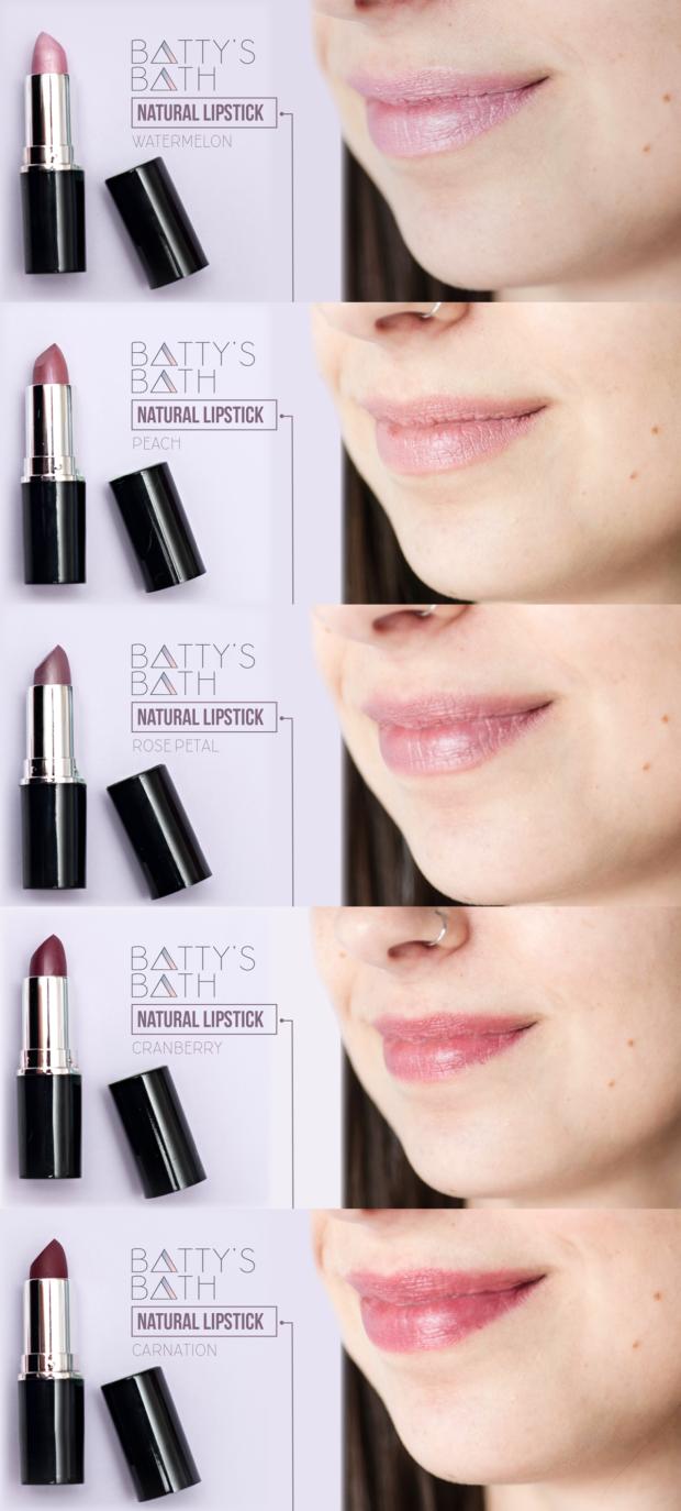 Organic Lipstick - Natural Lip Stick - Cruelty Free Beauty