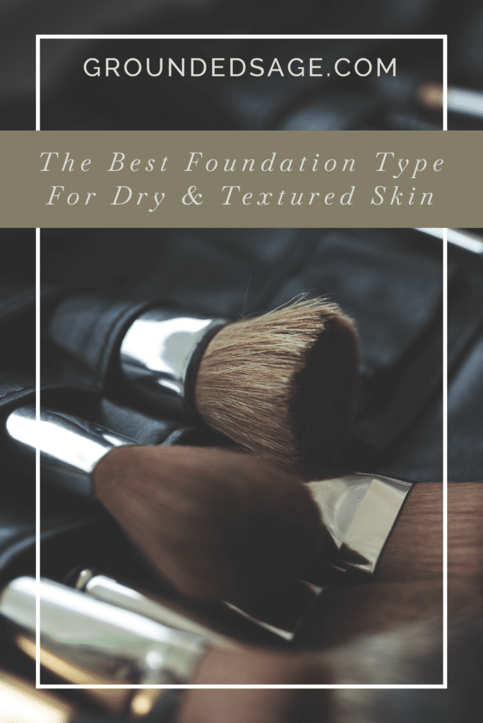 Foundation for dry & textured skin / makeup guide / powder foundation / mineral foundation / green beauty