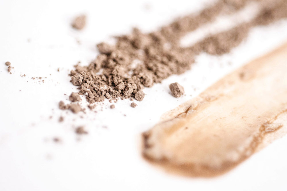 Natural clays in skincare for breakout prone skin