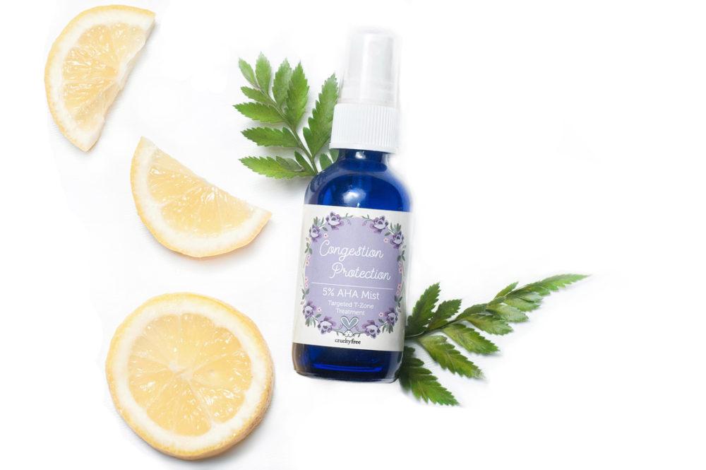 Exfoliating ingredients in natural skincare
