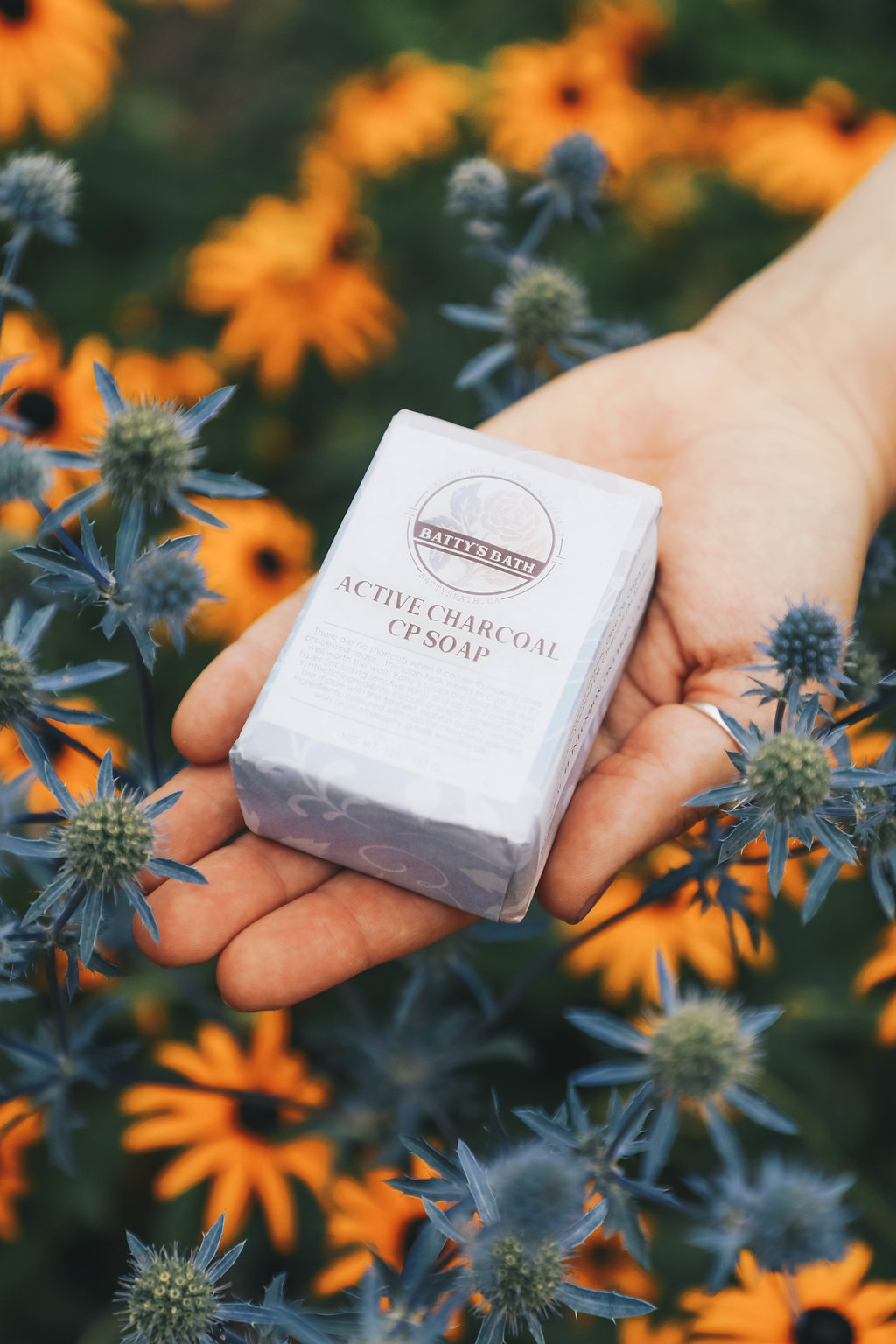 Handmade Natural Activated Charcoal Soap - Made in Canada