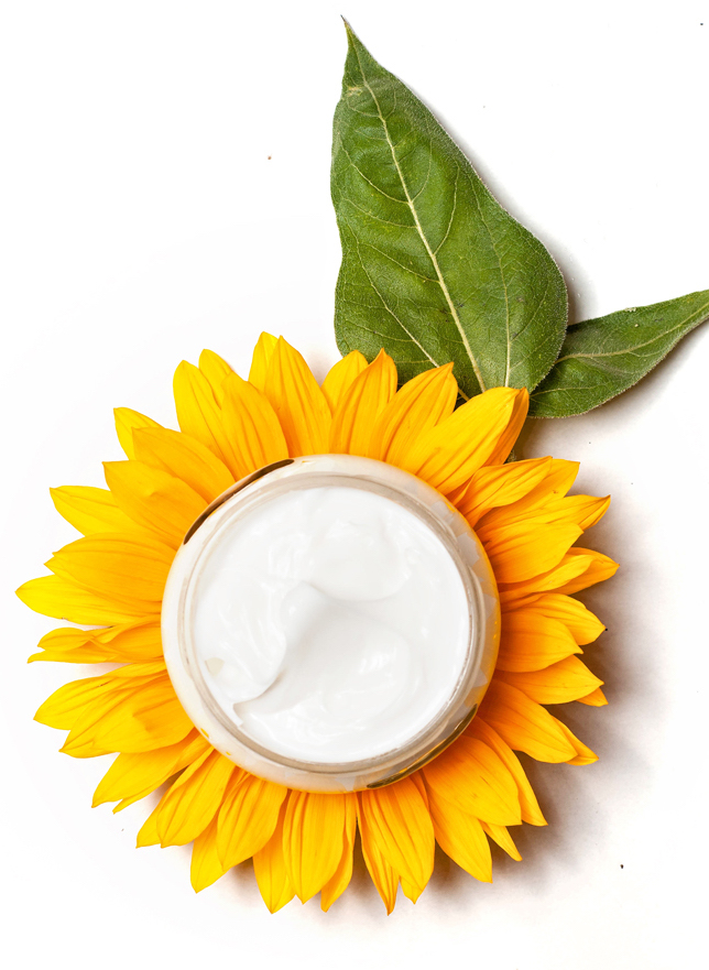 Protect and repair skin damage from free radicals with antioxidant rich natural skincare