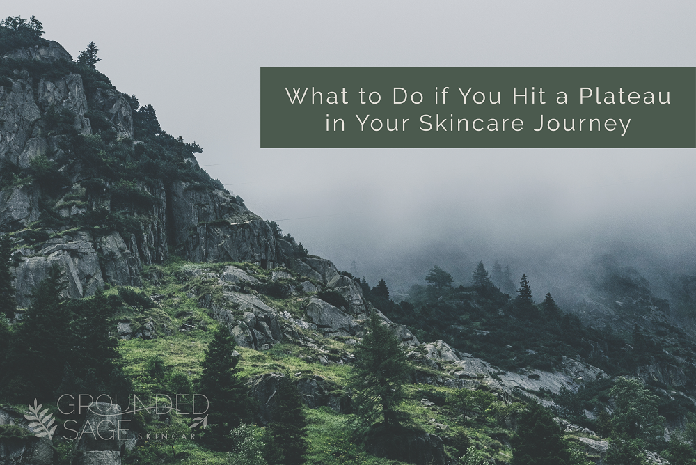 What to Do if You Hit a Plateau in Your Skincare Journey / skincare progress / acne progress / acne skincare / green beauty / jump start skincare / holistic skincare