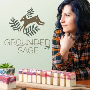 How nutrition (diet), movement, and mindset (compassion) effect our skin - Grounded Sage Podcast