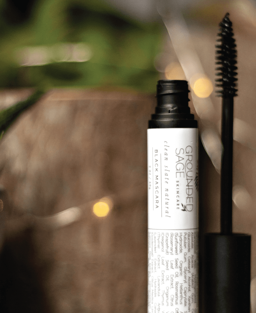 Nature's Veil Black Mascara / green beauty / eco beauty / sensitive eyes / made with natural ingredients