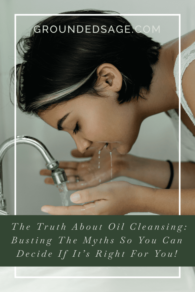 Oil cleansing / myths busting / facial care / green beauty / eco beauty / skincare / holistic skincare / oils for skin