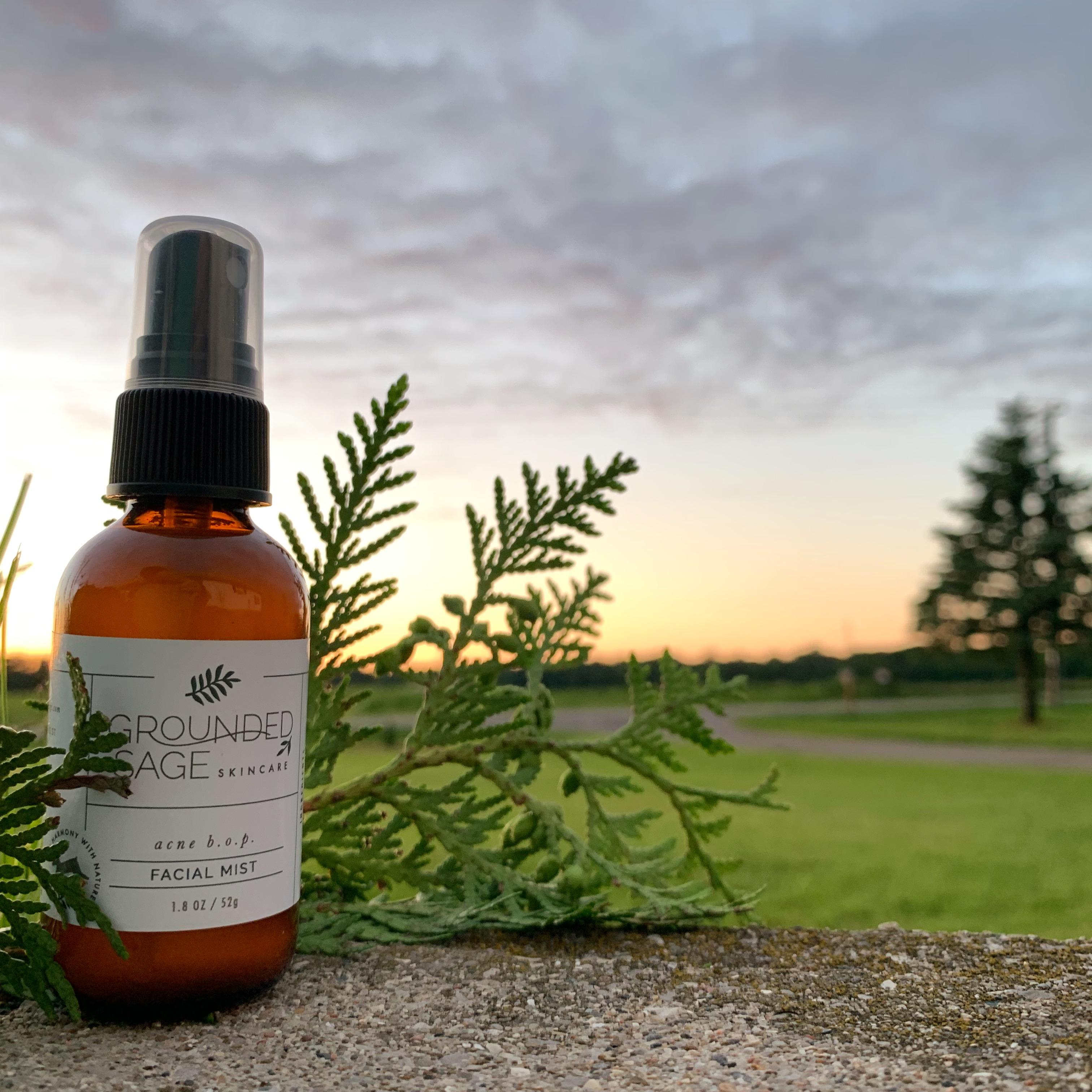 natural acne hydrating toner