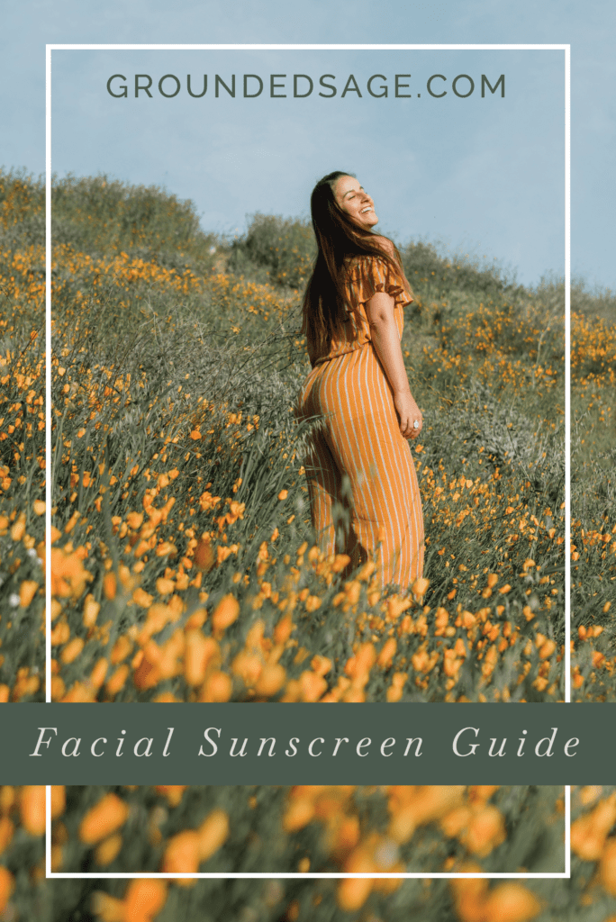 facial sunscreen guide / green beauty / sun protection / holistic beauty