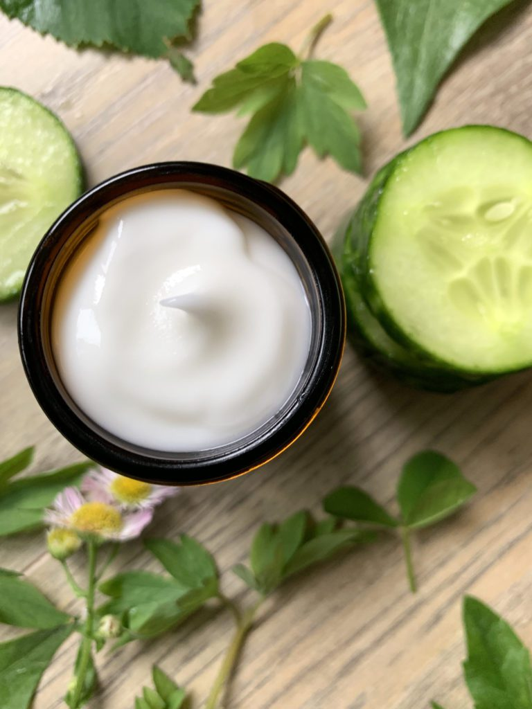 Lightweight Summer Face Cream - Cucumber Refresh Facial Moisturizer - Grounded Sage Skincare