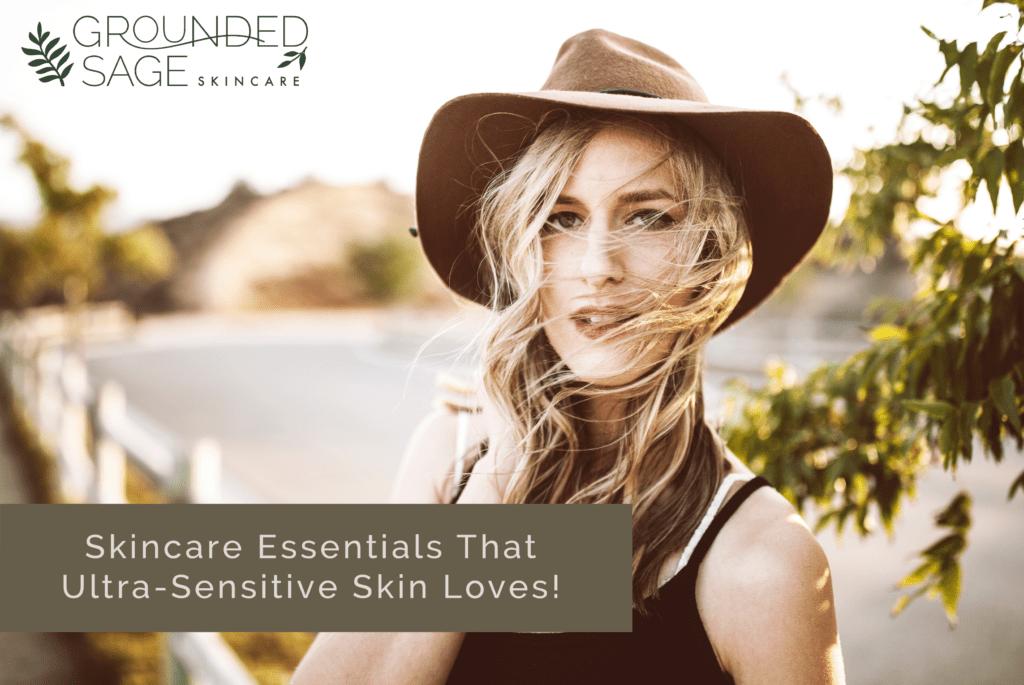 sensitive skin / rosacea / green beauty / holistic skincare