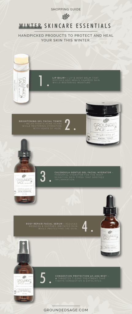 winter skincare / skincare for dry and cold environments / green beauty