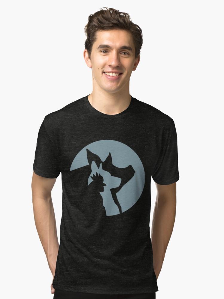 blue logo - lily's place shirt