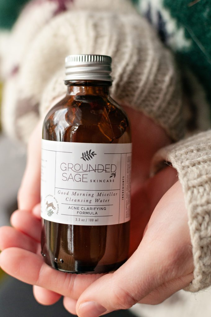 Natural Micellar Cleansing Water - botanical, herbal, apothecary skincare benefits