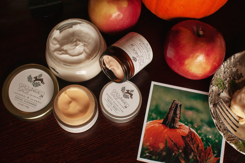 Probiotic Skincare Products - pumpkin enzyme mask