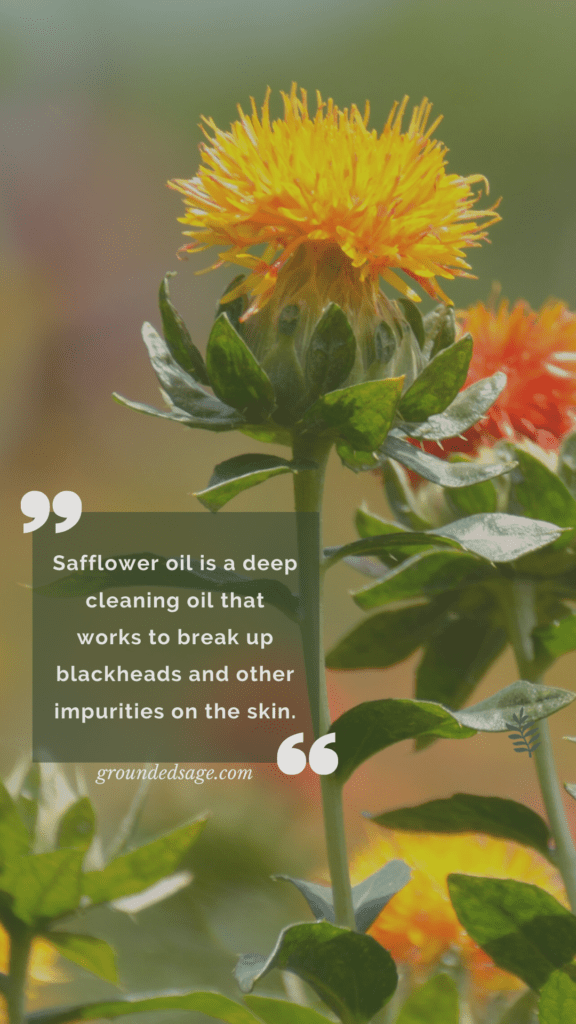 Herbal cleansing oil - The benefits of a natural cleansing oil for acne and oily skin - organic oil cleanser - apothecary skincare products