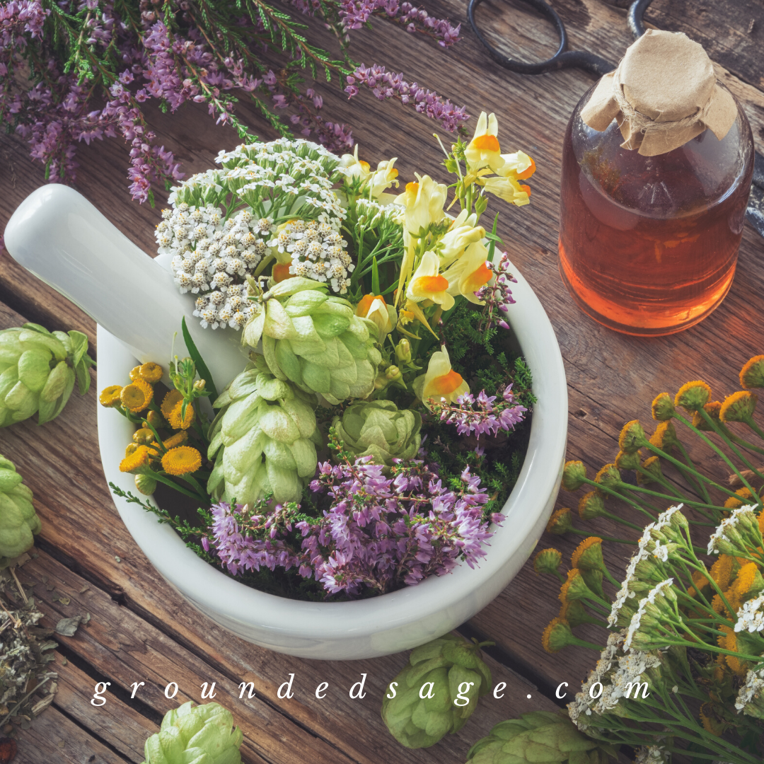 botanical beauty, garden remedies, and herbal wisdom for nature lovers, wise women, and the modern green witch - self care herbal tea for holistic healing