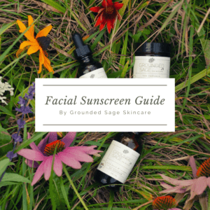 Guide to mineral sunscreen for your face including the best natural sun protection for oily skin, acne, and everyday daily skincare routines.