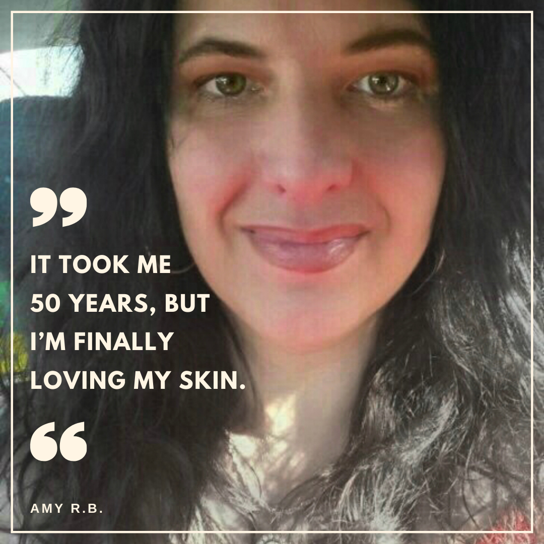It took me 50 years, but I'm finally loving my skin. Lessons learned about how to take care of my skin that are working for me when drugstore and department store products failed.