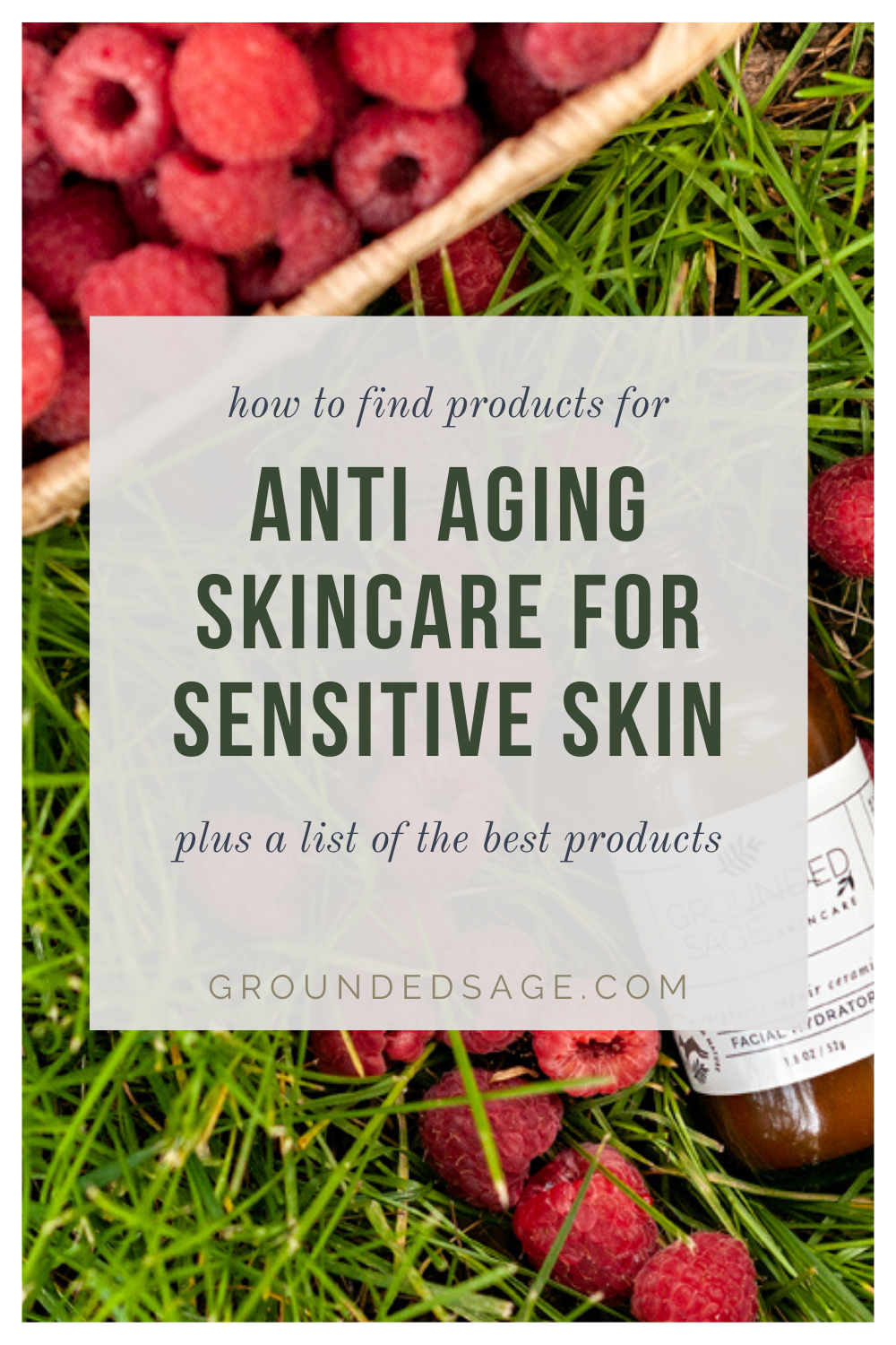 How to find anti aging skin care products for sensitive skin. Vegan beauty advice. Vegan products to try. Cruelty free skincare tips for healthy face routines