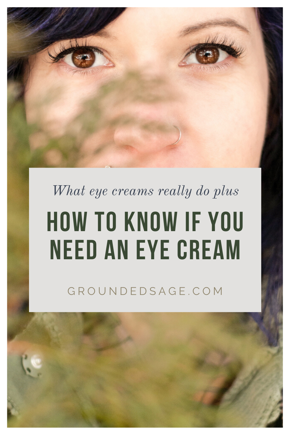 What do eye creams do plus how to know if you need an eye cream in your healthy skin care routine. Skincare basics for beginners and tips for keeping your beauty routine simple.