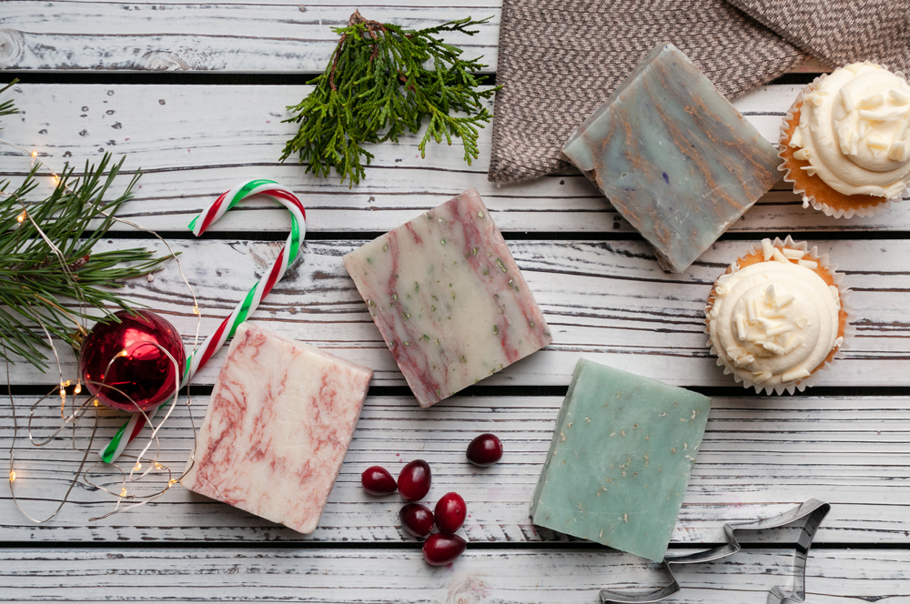 Handmade Holiday Soap Bars that Give Back to Animal Charities and help pets in need