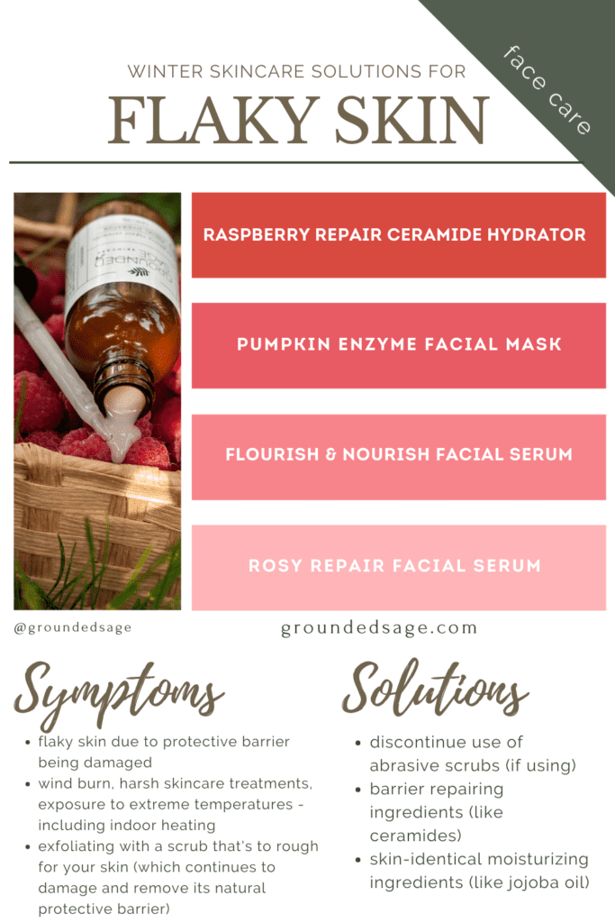 how to treat dry flaky skin on face - natural products and what to do to treat flaking skin