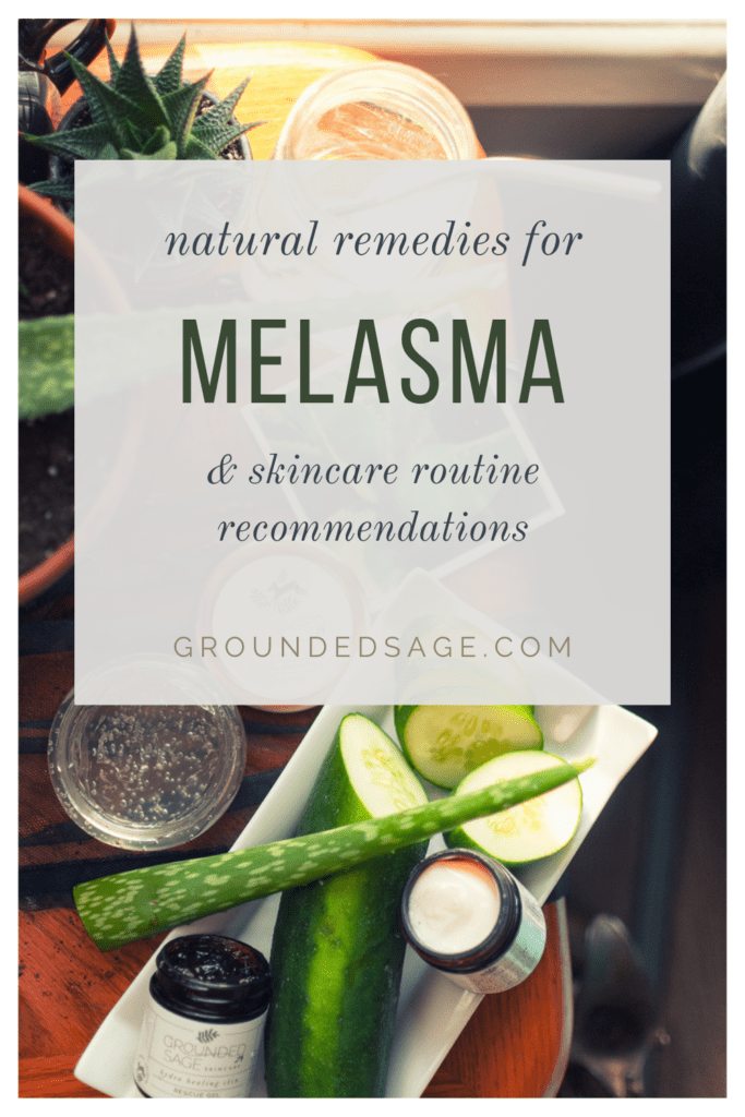 Managing Melasma Triggers Naturally - natural skin care products and organic skincare routine products