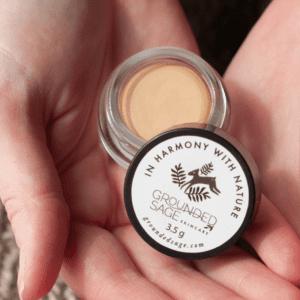natural cream concealer pot in matte finish - vegan makeup